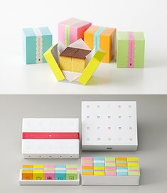 """Fukusaya-CUBE""  traditional Japanese sponge cake with cute  packages.