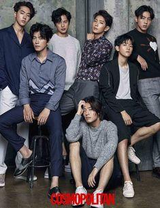 Fashion magazine Cosmopolitan revealed pictures of the 'Scarlet Heart: Ryeo' team. The pictures revolve around 'IU' and the seven prices who make up the story; Lee Joon-ki, 'IU' (Lee Ji-eun), Kang Ha-neul, Baekhyun, Nam Joo-hyeok, Ji Soo and Yoon Seon-woo.