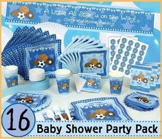 Sport theme baby shower for boys