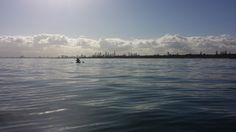 Freedom is a Kayak and a paddle.  You and the sea.  Melbourne, Australia.  June 2016.  Photo taken using a Samsung Galaxy S4. (c) Lucas Pardo.
