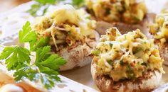 Funghi+ripieni+al+forno
