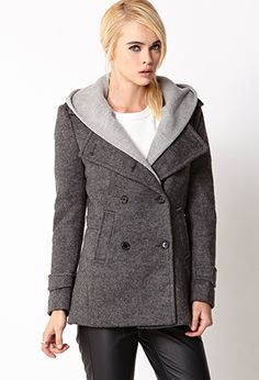 Street-Chic Hooded Trench Coat | FOREVER21 - 2073925132 $62.80...