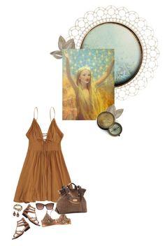 """fairy tale summer"" by summersdream ❤ liked on Polyvore featuring Kaiser, La Perla, Lizzy James, Crown Vintage, Sophia Kokosalaki, Michael Kors and INC International Concepts"