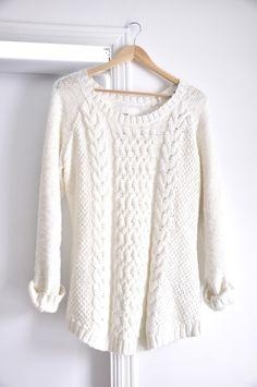 sweater. white. #fashion #style