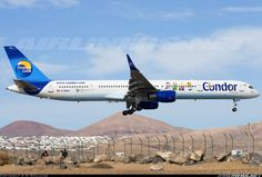 Condor (Thomas Cook) D-ABOJ Boeing 757-330 aircraft picture