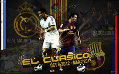 El Clasico Oct 2012 HD Best Wallpapers