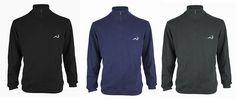 Today's Deal: Woodworm 1/2 Zip Sweater – Black/Navy/Grey http://dailygolfdeal.co.uk/deals/deals/woodwormhalfzip/