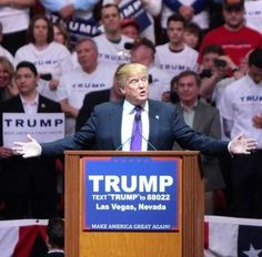 rump vows to remove all barriers to energy independence Written by Thomas Richard, Blasting News on 27 May 2016. trumpPresidential nominee Donald Trump vowed to cancel the Paris Climate Agreement and dramatically reduce the EPA's budget and its regulatory stranglehold during yesterday's energy policy speech in North Dakota. Within hours, the usual suspects called his policies calamitous for planet Earth.