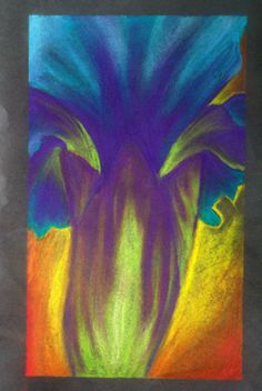 artist....howvery--blue. links to deviantART site. Done in pastel, artist names O'Keeffe as an inspiration.