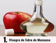vinagre de manzana verrugas