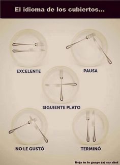 Learning how to eat Table Setting Etiquette, Dining Etiquette, Table Settings, Good Manners, Table Manners, Cena Formal, Etiquette And Manners, Kitchen Hacks, Kitchen Gadgets