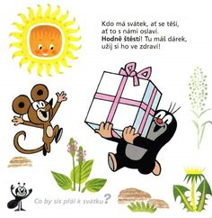 Muldvarpen har en stor gave til musen Mole, Fairy Tales, Homeschool, Clip Art, Classroom, Humor, Comics, Learning, Illustration