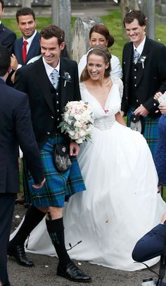 "Andy Murray weds Kim Sears - in pictures "" Well over six fit tall,broad in proportion and striking of feature,he was a far cry from the grubby horse-handler...and he new it."" Diana Gabaldon,Cross Stitch"