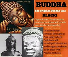 Ancient Africans in Asia - Bing images Asian History, African American History, Black Buddha, Black History Facts, World History, Ancient History, The Originals, Consciousness, Black Power