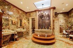$114M mansion on Manhattan's Upper East Side...okay, this bathroom is worth the $114 million...
