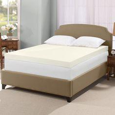 overstock serta ultimate 4inch visco memory foam mattress topper enjoy a