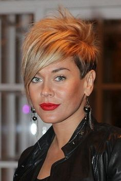 Of The Best Short Hairstyles For Women - The best 3 short hairstyles for. Edgy Short Haircuts, Cute Hairstyles For Short Hair, Hairstyles Haircuts, Curly Hair Styles, Short Asymmetrical Hairstyles, Funky Short Hair, Short Hair Cuts, Assymetrical Haircut, Great Hair