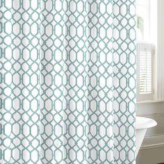 Tommy Bahama Bedding Shoretwon Trellis Cotton Shower Curtain & Reviews | Wayfair