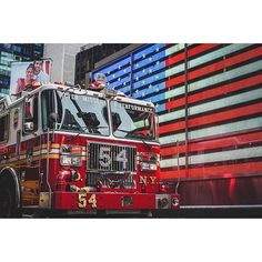 @nycfire343 Fire Dept, Fire Department, Firefighter Training, Firefighter Pictures, Fire Apparatus, Fire Engine, Fire Trucks, Times Square, Engineering