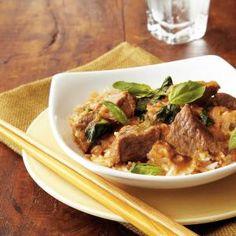 Thai Red Curry Beef Recipe | MyRecipes.com
