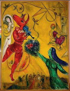 Marc Chagall et sa rhapsodie amoureuse.