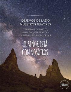 El Señor está con nosotros. #mormonsud #jesucristo Mormon Quotes, Lds Mormon, Lds Quotes, Inspirational Quotes, Christian Backgrounds, Lds Church, Latter Day Saints, Spanish Quotes, Gods Love