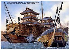 Image result for korean turtle ship