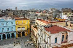 Plaza vieja, Havana, Cuba by Pierre-Olivier Fortin on 500px