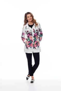 jacket: 216809 top: 216823 pant: 216806 #TROPICALPARADISE #SPANNER #ACTIVE #INSPIRED #STYLE #COLLECTION #SPRING #SUMMER #2016 #S16 #WOMENS #FASHION Summer 2016, Spring Summer, Tropical Paradise, Inspired, Womens Fashion, Pants, Jackets, Inspiration, Collection