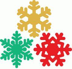 Silhouette Online Store: snowflake set