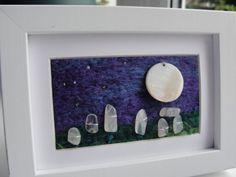 Magic stone circle Stone Henge inspired needle by ThePaintingTree