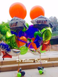 Balloon Delivery Helium Balloons Bouquet Birthday Bouquets Los Angeles