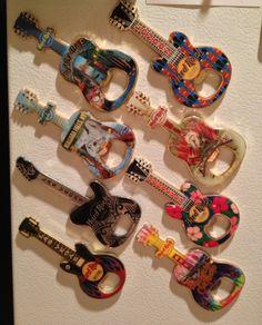 Hard Rock Cafe magnet bottle opener