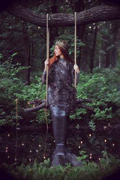 Miss Moss I Mermaid (or Rusalka in Russian) I Shot by Nika Kurnosova with Olga Moskvina as the mermaid