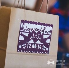 Lula Flora designs goodie bag.