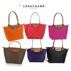 Longchamp Bags I Have Every Color Above And Still Want More Love These They Fold