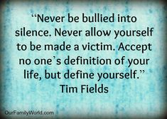 IMAGES/STOP BULLYING QUOTES | Bullying Awareness Month: Quotes and Thoughts About Bullying