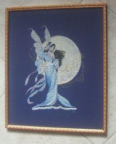 Moon Fairy Spirit di Passione Ricamo ricamata da giuseppina ceraso http://crocettando.wordpress.com