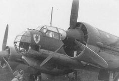 Junkers Ju 88 A of II/KG 30 Amsterdam Schiphol 1940 ~ BFD