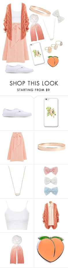 """""""Happy New Years Eve!"""" by and-he-shall-be-my-squishy ❤ liked on Polyvore featuring Vans, Lisa Marie Fernandez, Lana Jewelry, Kendra Scott, Decree, Topshop, Feather & Stone and PINTRILL"""