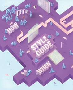 .NET MAGAZINE: STYLE GUIDE by James Oconnell, via Behance