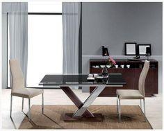 Comedor con mesa extensible. http://www.decorhaus.es/ #muebles #furniture #Málaga
