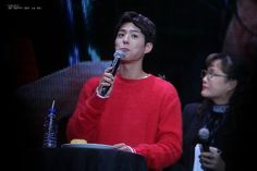 """161217 ♡ park bogum asia tour fanmeeting in hong kong  everlastingyui // do not edit or remove watermark."""