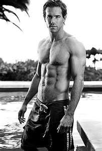 Ryan Reynolds....a little change in the scenery for the day!