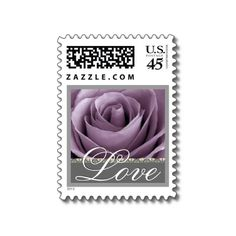 Love Turquoise And Teal Wedding Rose Stamp Created By Fl