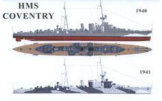 HMS Coventry, 1940/41