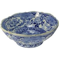 Blue Decorative Bowl Chinoiserie Blue & White Decorative Bowl $65 ❤ Liked On