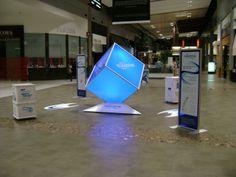 Sensodyne Rapid-Relief Mall Display - Brandstand