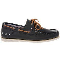 05d24cca38 Ανδρικά μοκασίνια Boat Shoes δερμάτινα TOMMY HILFIGER εξαιρετικής ποιότητας  σε μπλέ χρώμα