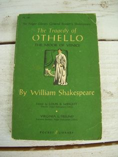 a literary analysis of othellos character in the tragedy of othello by william shakespeare The sad truth in society shines brightly in the play by william shakespeare, othello - othello's tragic flaw introduction william shakespeare brought every character to life in this play othello literary analysis lago the.